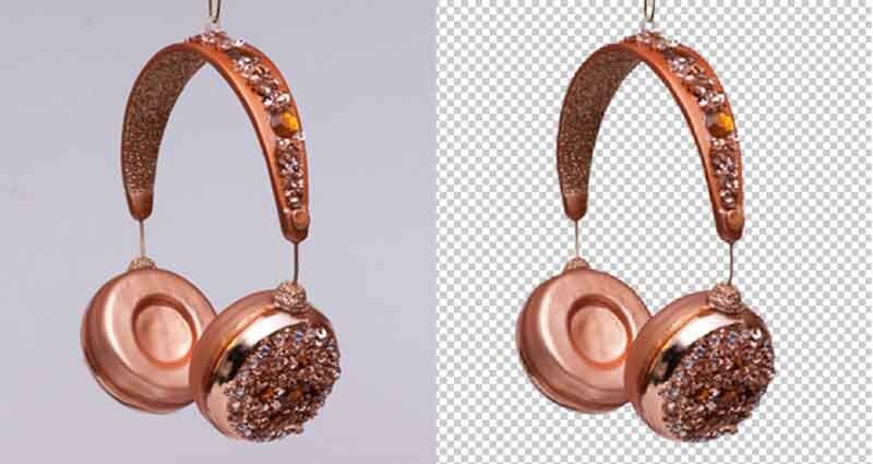 headphone background remove to show product photo editing methods for amazon