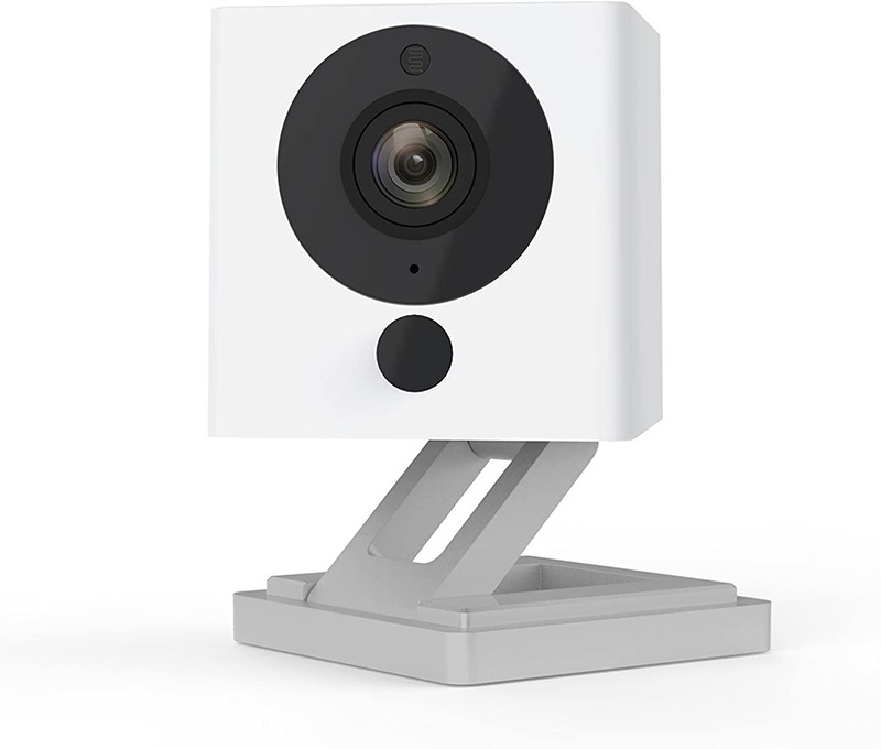 a speaker with white background