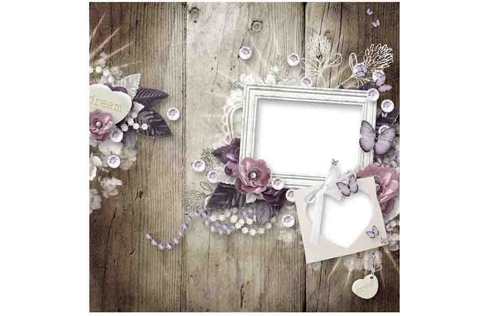 Romantic Border and Frames for photoshop