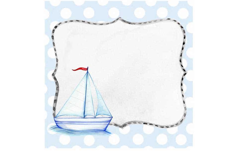 ship background photo frame