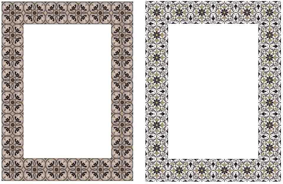 Square Elegant Frames