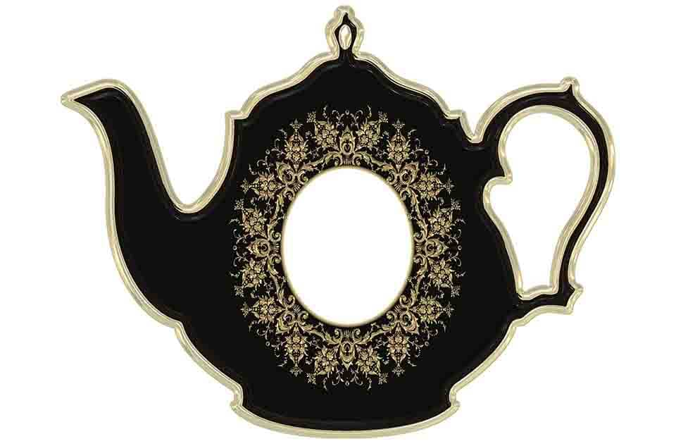teapot and cup photo frames for photoshop use