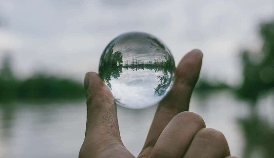 Pictures with crystal ball