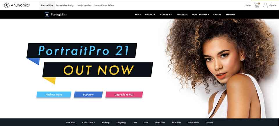 portrait pro | Top Paid Photo editing Software
