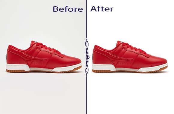 Shoe Photo Realistic Shadow Addition