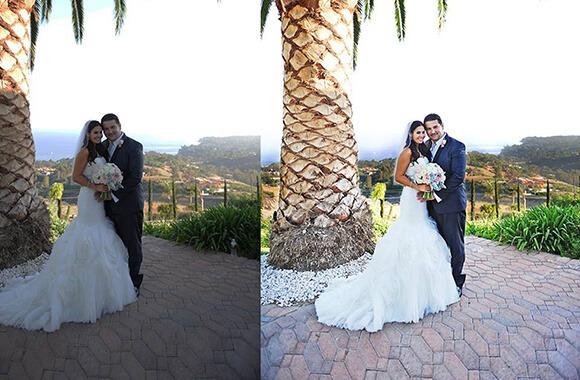 Wedding photo Color Correction