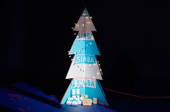 christmas photo editing SIMBA