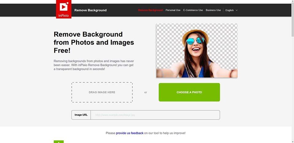 remove background online tools_inpixio