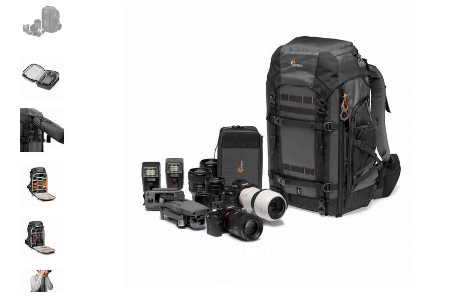 camera and lens backpack