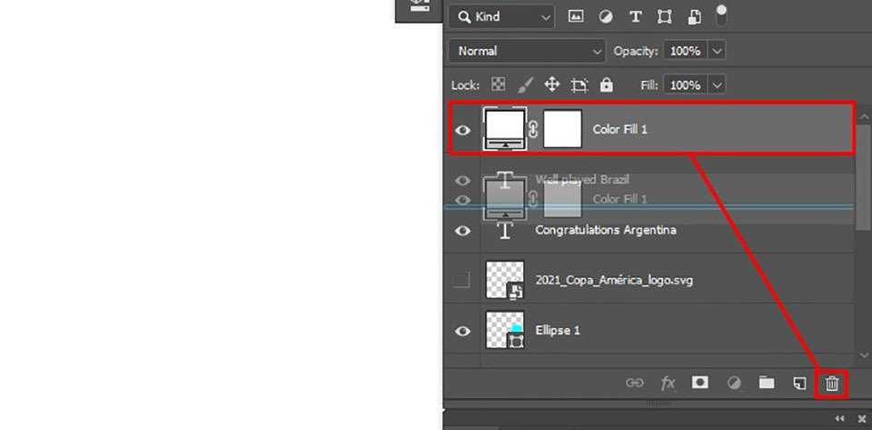 removing a layer