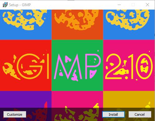 Setup GIMP