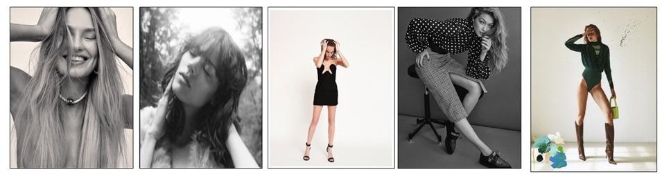 Model photography shoot