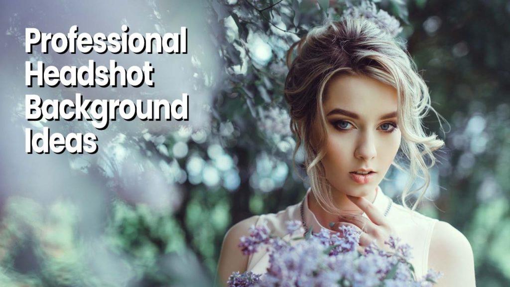 Professional headshot background