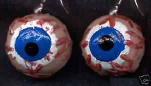 funky eyes earrings