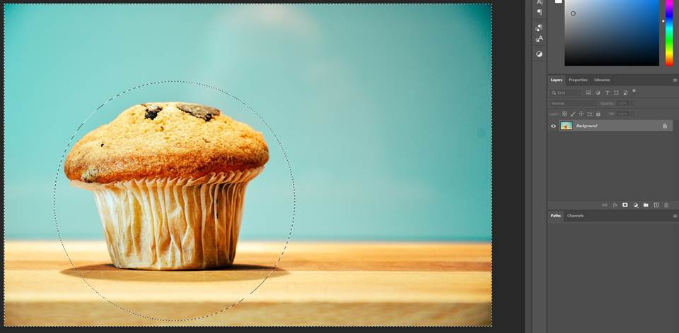 how to square a photo in photoshop