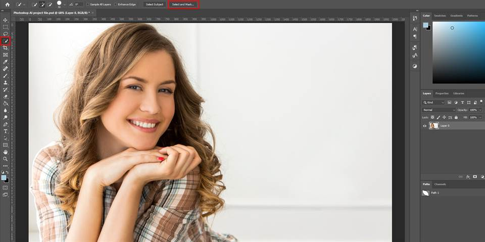 crop multiple images at once photoshop